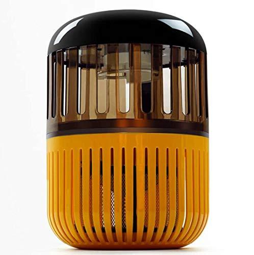 TUNBG Fotocatalizador Mosquito Killer, lámpara Infantil del Mosquito de Las Mujeres Embarazadas, Amarillo + Negro 160 * 160 * 259