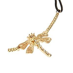 2LIVEfor Haarschmuck Türkis Tropfen Orientalische Haarkette Libelle Kopfkette Gold Haarband Band Kette Pailletten Party Festival Kopfschmuck Perlen Weiß