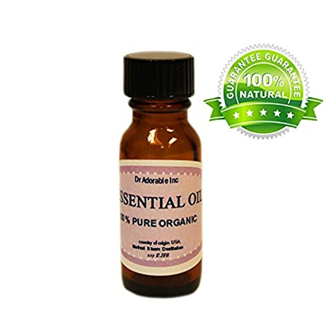 Lavender Essential Oil 100% Pure Organic 0.6 Oz/18 Ml