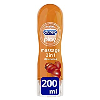 Durex Play Massage 2-in-1 Stimulating Lube, 200 ml