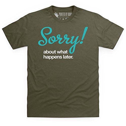 Sorry T-Shirt, Herren Olivgrn
