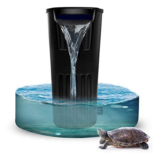 Filtro Cilindro A Tartaruga - Basso Livello Acqua Cascata Piccolo Acquario Depuratore D'acqua Incorporato Molto Silenzioso