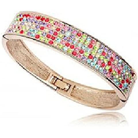 Andonger Placcato oro 18K cristallo variopinto Bracelet