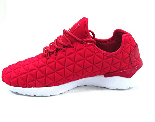 Asfvlt - Speed, Scarpe da ginnastica Unisex – Adulto Red