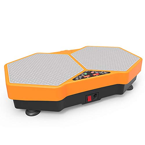 CWDXD 3D Vibrationsplatte |Honeycomb Pedal Design, geräuschlos geräuschlos, kabelloses Design, dünne Taille, Ofenrohr, dünner Bauch, Facelifting
