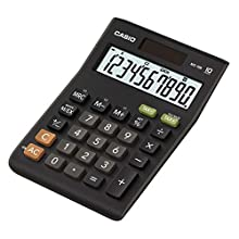 Casio MS10B Calculatrice de Poche/Bureau Gamme Financière