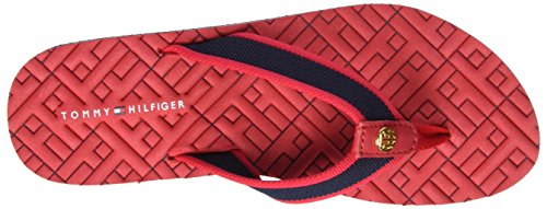 Tommy Hilfiger M1285ellie 9d, Tongs  Femme Rouge (Tango Red 611)