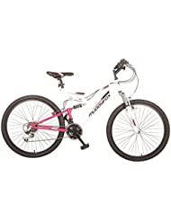 Muddyfox Womens Recoil26 Ladies Dual Suspension Mountain Bike Bicycle