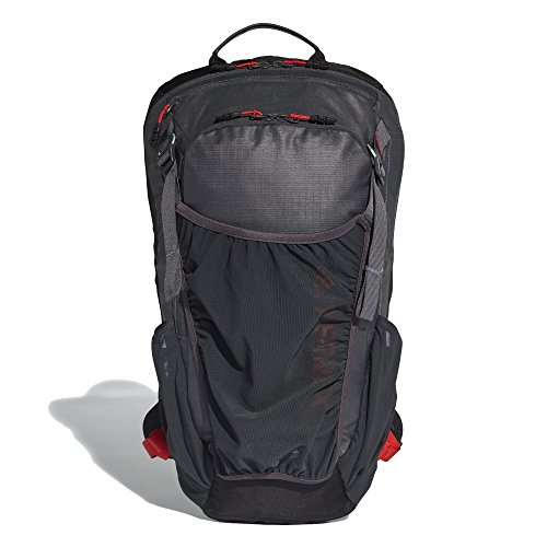 Preisvergleich Produktbild adidas Unisex-Erwachsene TX Cross Trail Rucksack,  Grau (Carbon / Negro / Rojsol),  24x36x45 Centimeters (W x H x L)