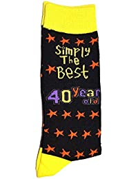 Simply The Best 40 Year Old Socks