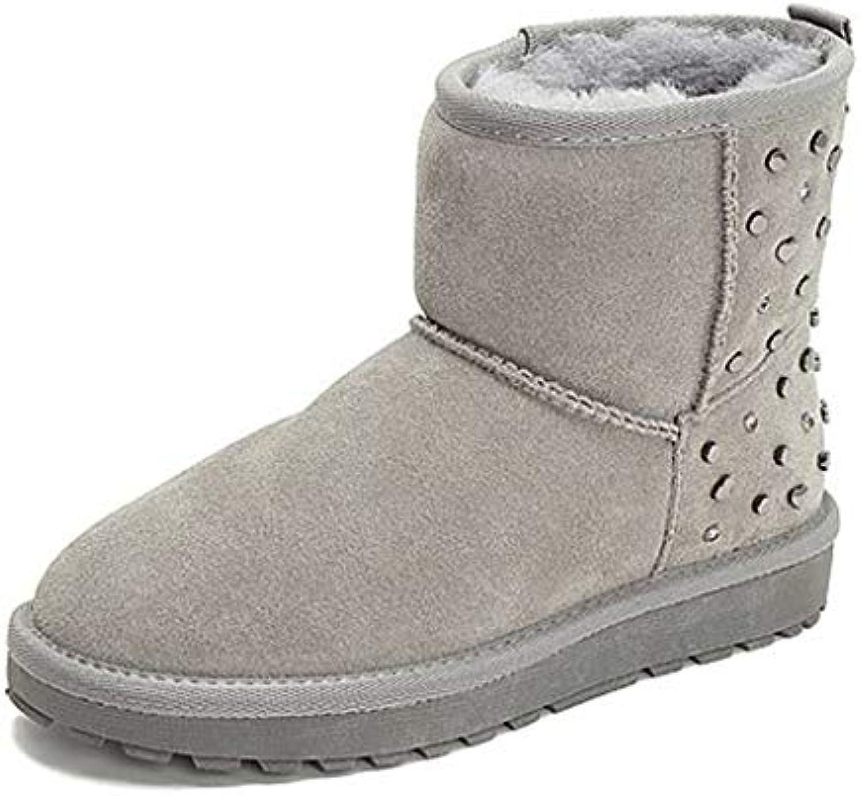 Chaussure Martin Bottes Bottines pour Femmes Bottines Plates des conviennent Bottines Qui conviennent des à Tous tes vêteHommes ts...B07JK33B4TParent 3d328b