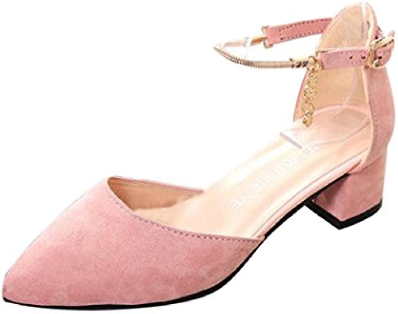 Zapatos mujer tacon, Culater Sandalias de tacón ancho