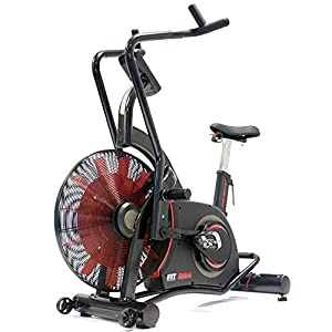 FitBike Airbike The Beast – Turbinen Trainer mit Trainingscomputer für HIIT-Training – Crossfitbike