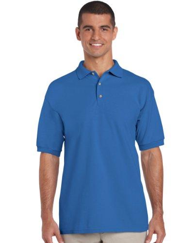 Gildan 3800 Ultra Cotton Erwachsene Combed Ringspun Pique Polo Shirt Royal XL
