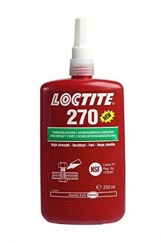 Auto-primer-sealer (LOC Henkel Loctite 270 x 250 ml hohe Festigkeit - Gewindeschnittener Kleber - Metall Klebstoff -)