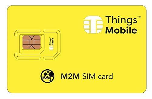 Tarjeta SIM dispositivos M2M machine to machine -