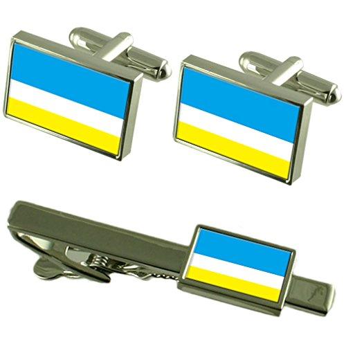 la-libertad-equateur-ville-manchette-drapeau-un-ensemble-cadeau-cravate