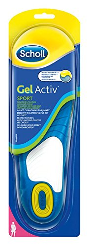 Scholl GelActiv Einlegesohlen Sport (Größe 35,5-40,5), 1 Paar