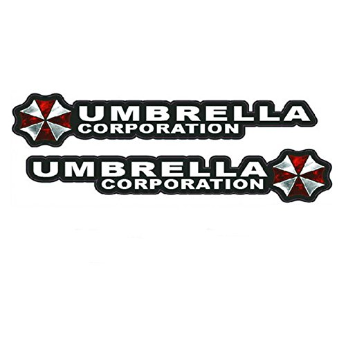 paire-de-umbrella-corporation-resident-evil-voiture-stickers-autocollants