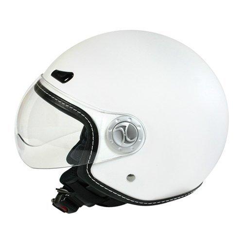 koji - Helio-Plus, casco jet - Bianco opaco - XL