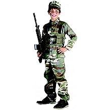 Disfraz de soldado para niño de 4 - 6 años