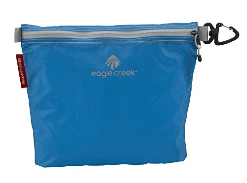 Eagle Creek Wasserabweisender Taschenorganizer Pack-It Specter Sac Medium platzsparende Packlösung, strobe green brilliant blue