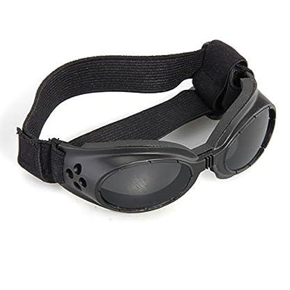 FACILLA® Black Framed Pet Puppy Dog UV Protection Doggles Goggles Sunglasses Eyewear 3