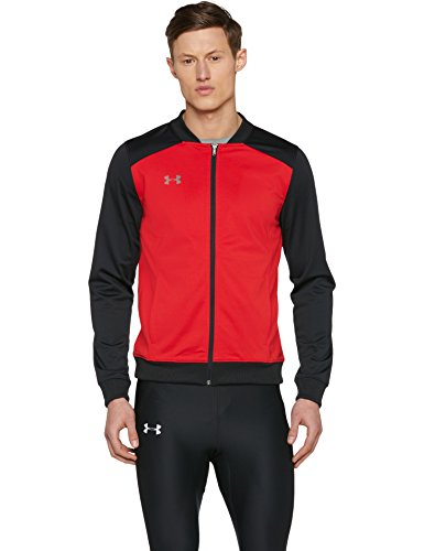 Under Armour Challenger II Track Jacket Parte Superior del Calentamiento, Hombre, Red (601), XL