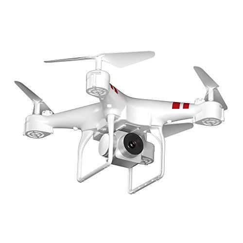 Drone Yesmile GPS con Telecamera 720P HD Drone GPS con Grandangolare-Regolabile Camera HD WiFi FPV Quadricottero Funzione Seguimi Altitudine Attesa, Controllo di più Lunga Distanza 1800Mah Batteria