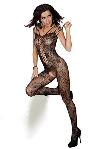Preisvergleich Produktbild Livia Corsetti kleiner/großer schwarzer Nikandra- Bodystocking