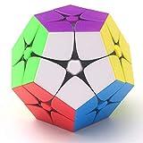 NFHNBABO El Cubo De Rubik 12 Velocidad De La Cara Cubo Mágico 2X2X2 Puzzle Torcido Sin Pegatina Cubo Educación Infantil