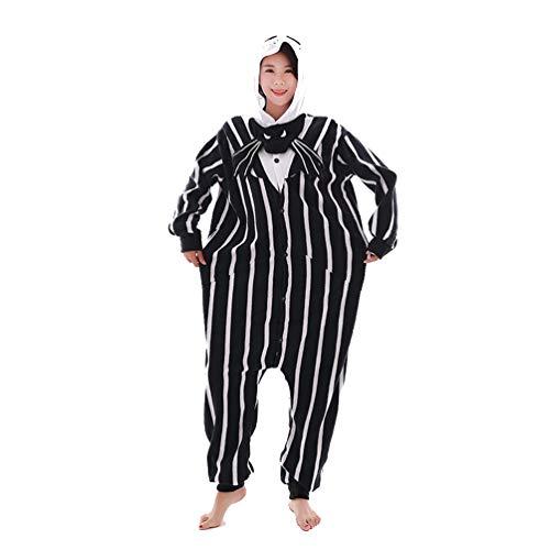 Hommes Onesies Animal Kigurumi Jack Fleece Vêtements de Nuit pour Cosplay Party Halloween Christams