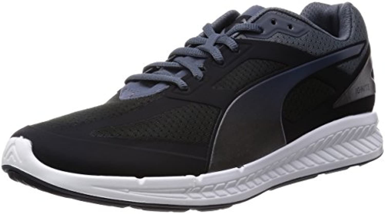 Puma Ignite Men Running Shoes Fitness Jogging 188041 01 Lila, Tamaño de Zapato:EUR 42
