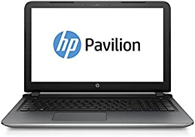 HP Pavilion 15-ab217ng 39,6 cm (15,6 Zoll Full HD) Notebook (Intel Core i5-6200U, 8 GB RAM, 256 GB SSD, NVIDIA GeForce 940M, DVD-Brenner, Windows 10) silber