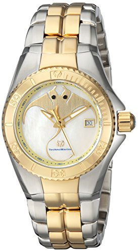 TechnoMarine TM-115187 - Reloj de pulsera Mujer, color Bicolor