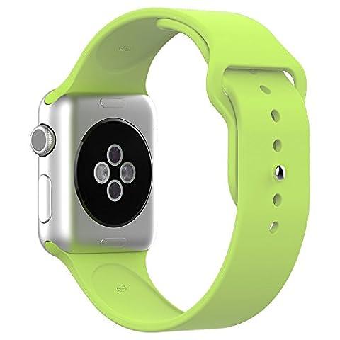 elego Trading pour Apple Montre bande Coque souple en TPU