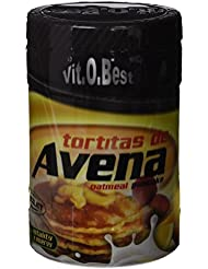 Vit-O-Best Tortitas de Avena, Suplementos Alimentarios para Deportistas, Sabor a Chocolate - 700 gr