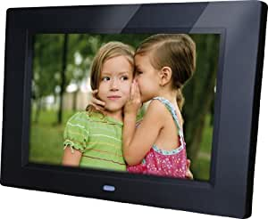 Rollei Pictureline 4200 Bilderrahmen (25,7 cm (10,1 Zoll) LED Display, Video, integrierte Stereo Lautsprecher, Weckfunktion) schwarz