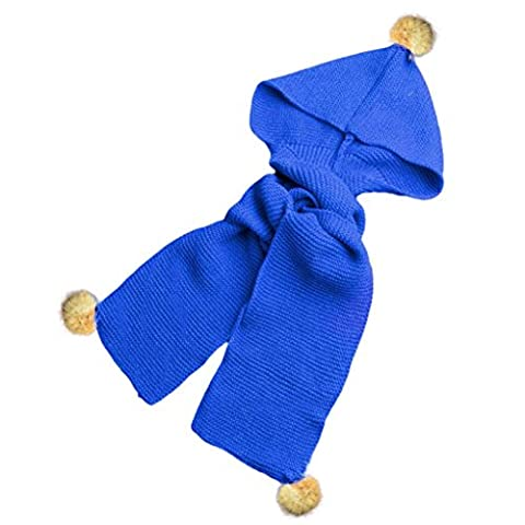 Hats&Scarf, Kingko® Autumn Winter Boys Girls Baby Scarf Cotton O Ring Neck Scarves (Blue)