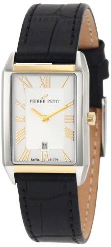 Pierre Petit - P-779B - Montre Femme - Quartz Analogique - Bracelet Cuir Noir