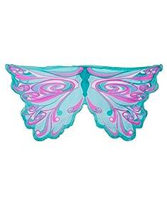 DREAMY DRESS-UPS 50574Verde Hada Rainbow alas para niña (Talla única)