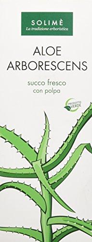 Aloe Arborescens succo fresco con polpa per la depurazione dell'organismo 1000 ml - Prodotto erboristico made in Italy