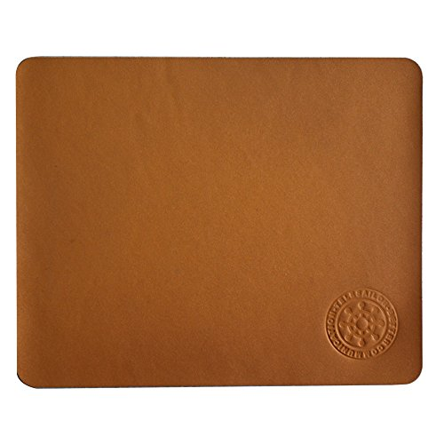telesailor-brown-genuine-leather-mouse-mat-thin-professional-computer-laptop-pad