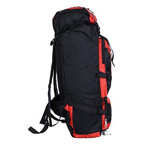 BM Massa di spalla borsa all'aperto alpinismo di uomini e donne da viaggio zaino outdoor viaggi zaino impermeabile , big red big red