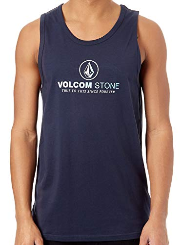 Volcom Herren Super Clean BSC Tt Tanktop, Navy, M - Tank-tops Volcom