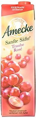 Amecke's Sanfte Säfte Traube Rose, 6er Pack (6 x 1 l Packung)