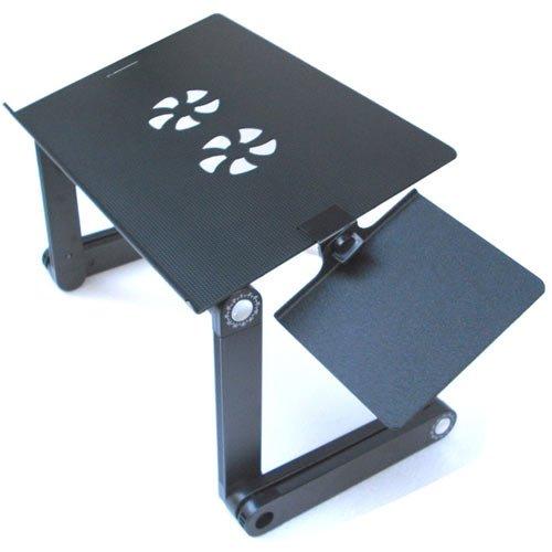 Henweit 360 ° Laptop Desk Stand Tabelle Lüfter Mauspad