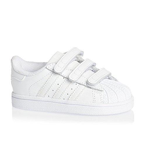 adidas Superstar Foundation Cf, Chaussures Bébé marche mixte bébé Blanc