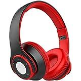 Auriculares Diadema Auriculares Bluetooth con Función 4 en 1, Nicksea Auriculares Inalámbricos Bluetooth con Micrófono 10H de Reproducir, 200H de Esperar, Cascos Bluetooth Audio de Alta Fidelidad y HiFi, CVC6.0 Reducción de Ruido para iOS y Android, PC, Mac TV