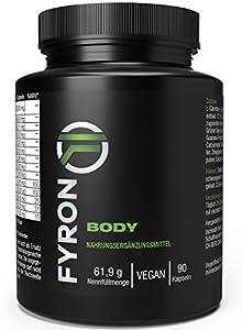 envios economicos: Fyron Body - Metabolismo, Energía & Digestión - Vegano sin aditivo